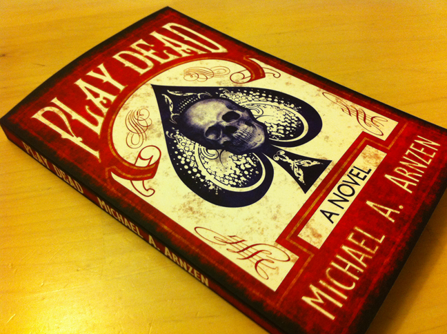 Image of Play Dead's new paperback edition.