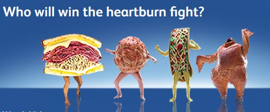 Do food people get heartburn, too?