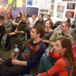 Great crowd at the Terrault Gallery