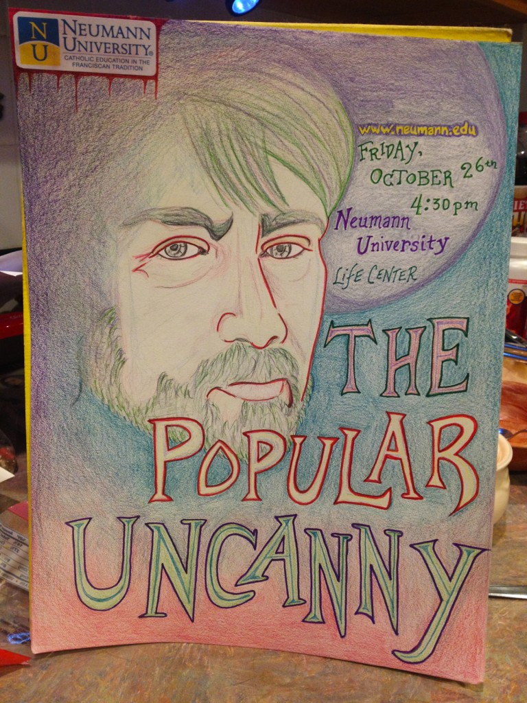 Poster for Popular Uncanny Lecture by Julie Smith
